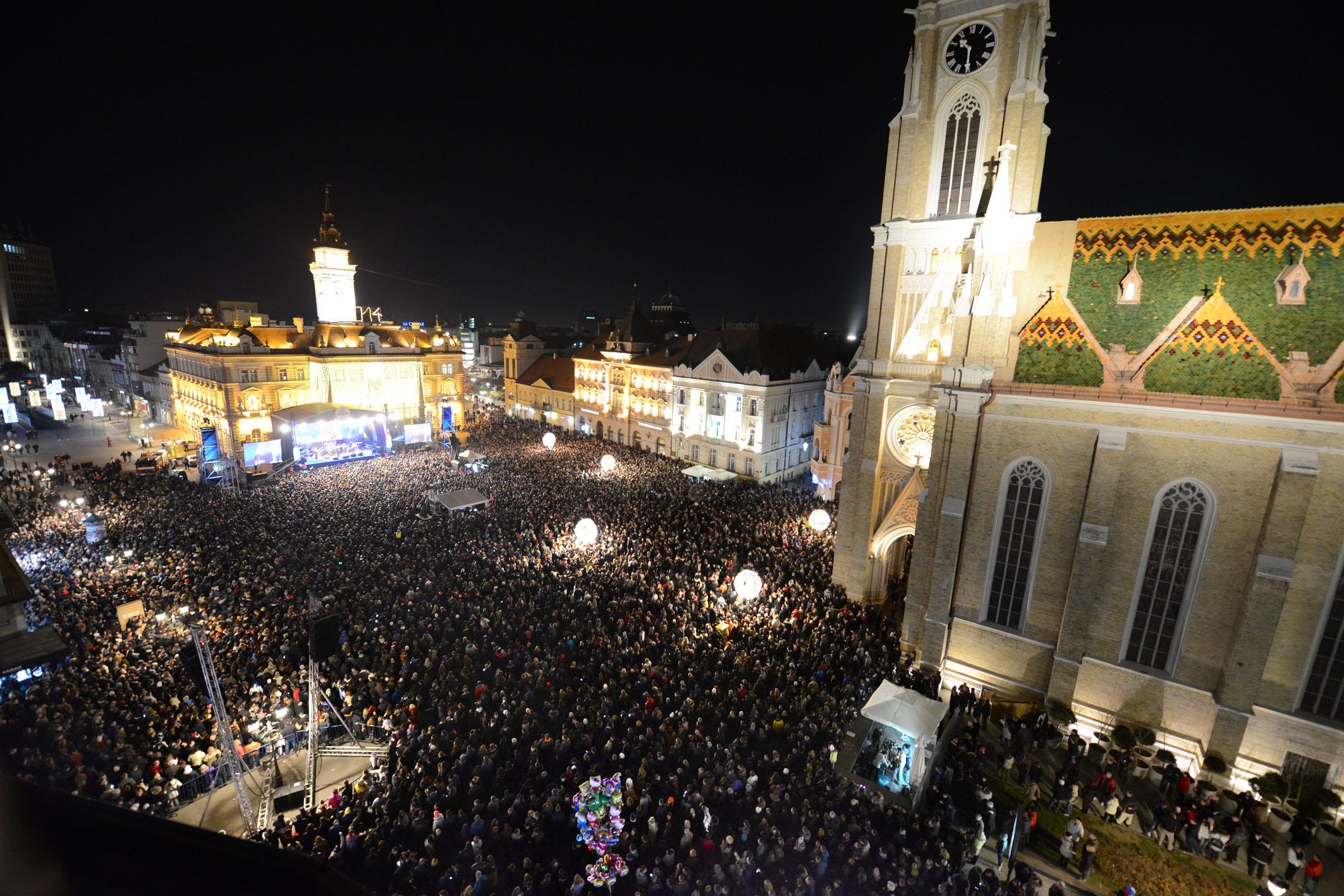 Doček pravoslavne nove godine 2014