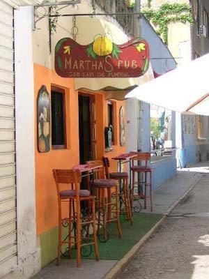 Martha's pub
